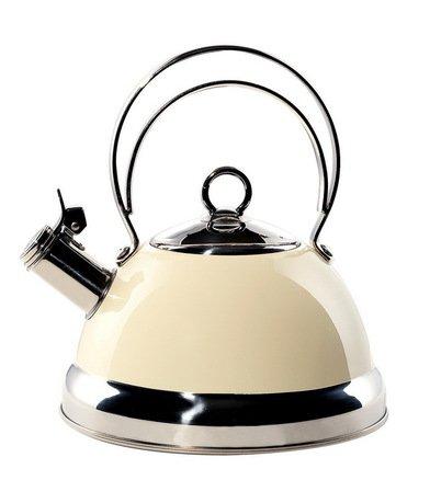 Чайник (2.75 л), слоновая кость (340520-23)Чайники<br>Стильный вместительный чайник из стали, покрытой термостойким лаком цвета слоновой кости, предназначен для кипячения воды.<br><br>Серия: Kettle Wesco