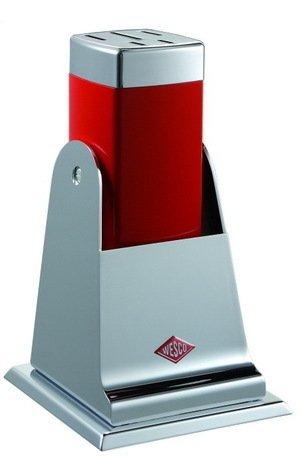 Подставка для ножей, красная Wesco 322601-02