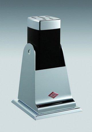 Подставка для ножей, черная Wesco 322601-62