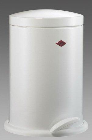 Мусорный контейнер (13 л), белый (117758)Мусорные ведра<br>Элегантный, вместительный контейнер с крышкой и педалью, выполненный из высококачественной нержавеющей стали и покрытый стойкой краской, отличается стильным исполнением и потрясающим удобством в использовании. Внутреннее мусорное ведро изготовлено из прочного бытового пластика, легко очищается и моется. При помощи педали крышку можно открыть и зафиксировать в открытом положении, а затем закрыть повторным нажатием на педаль. Контейнер прекрасно впишется в интерьер вашей кухни, санузла, балкона или террасы.<br><br>Серия: Pedal Waste Bin