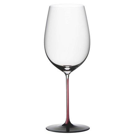 Фужер Bordeaux Grand Cru (860 мл), с красной ножкой и черным основанием