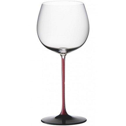 Фужер Montrachet/Chardonnay (500 мл), с красной ножкой и черным основанием