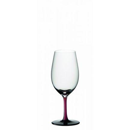 Фужер Vintage Port (250 мл), с красной ножкой и с черным основаниемБар и стекло<br>Портвейну нужен особый бокал небольшого объема с немного сужеными краями. Такая форма позволяет сбалансировать крепость, терпкость и кислотность этого напитка и ощутить приятные фруктовые нотки.<br><br>Серия: Sommeliers Black Series