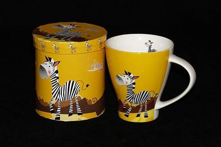 Кружка Зебра (400 мл)Чашки и Кружки<br><br><br>Серия: Зебра