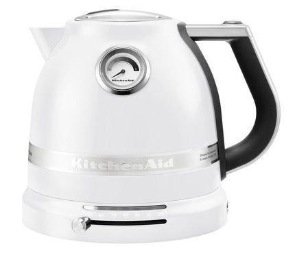 Электрочайник Artisan (1.5 л), морозный жемчугЧайники электрические<br>Этот красивый электрический чайник был разработан для того, чтобы вода не только закипала, но подогревалась до необходимой температуры максимально быстро. Это идеальная модель для заваривания популярных сортов чая (улуна, эрл грея, дарджилинг и других), для которых не нужен крутой кипяток. Температуру нагрева воды вы сможете установить самостоятельно (50&amp;deg;C - 100&amp;deg;C), подбирая ее под тип завариваемого напитка. Для белого чая лучше всего подходит вода 70&amp;deg;C, для зеленых чаев - 80&amp;deg;C, для кофе - 90&amp;deg;C. Так вкус чая не искажается и раскрывается в полной мере.     Характеристики:   Мощность: 2400Вт  Объем: 1.5 л  Размеры: 20.3 24.1 27.2 см<br><br>Серия: Proline Kettle