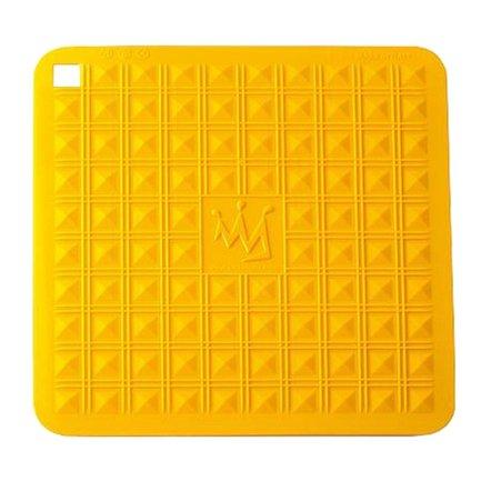 Прихватка-подставка для горячего, 29х29 см, желтая