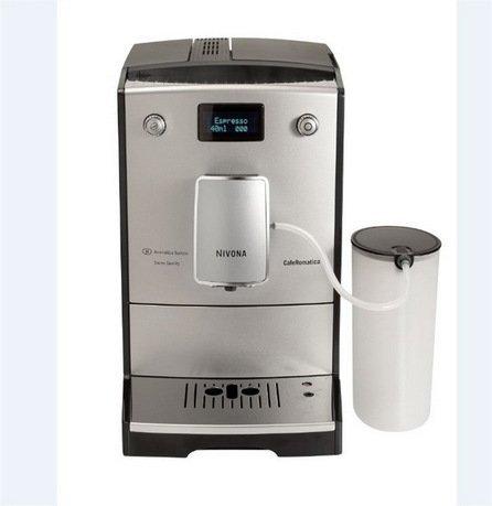 Кофемашина CafeRomatica NICR767, серебристый алюминий