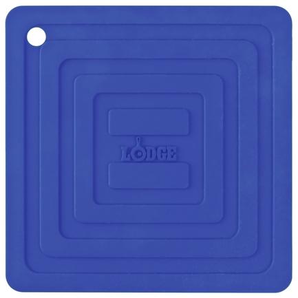 Подставка квадратная, 15 см, синяя