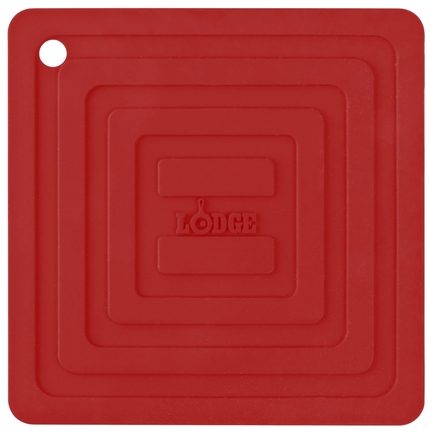 Подставка квадратная, 15 см, красная