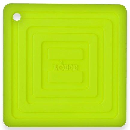 Подставка квадратная, 15 см, зеленая