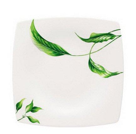 Тарелка обеденная Vegetal квадратная, 25 см