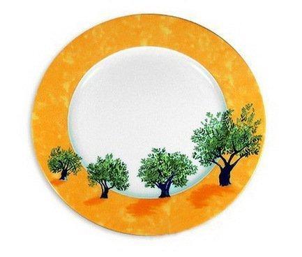 Блюдо круглое Ouliveiro Porcelaine деревья, 32 смПодносы и Блюда<br>Круглое блюдо большого размера – универсальная посуда для сервировки. На нем вы сможете красиво подать различные закуски, бутерброды, фрукты, десерты. На плоском фарфоровом блюде очень аппетитно смотрится мясная, рыбная или овощная нарезка.<br><br>Серия: Ouliveiro