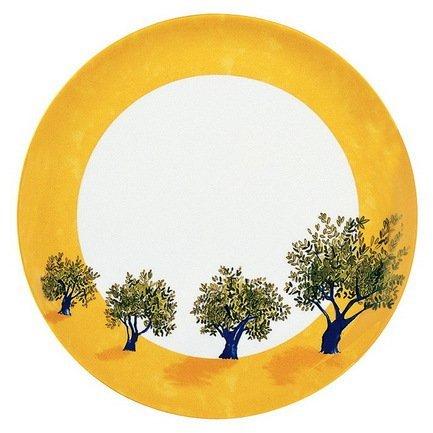 Блюдо круглое для пирога Ouliveiro Porcelaine веточки