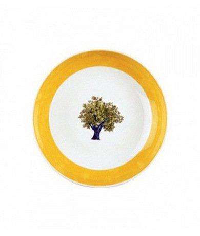 Тарелка суповая без бортика Ouliveiro Porcelaine деревья, 19 см