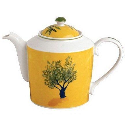 Чайник Ouliveiro Porcelaine деревья (1.13 л)Заварочные чайники и Кофейники<br>В этом изящном фарфоровом чайнике вы сможете заварить чай и красиво подать его к столу. Чайник довольно объемен и рассчитан на несколько порций напитка.<br><br>Серия: Ouliveiro