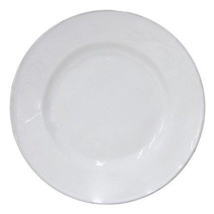 Тарелка Astoria, 21 см, белая, покрытие глазурь