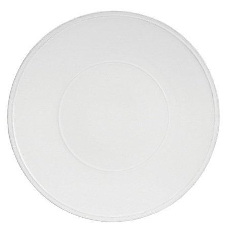 Тарелка Friso, 34 см, белаяТарелки и Блюдца<br>Тарелка большого диаметра используется для подачи основных блюд. Ее размер позволяет сделать красивую презентацию и удивить ваших приглашенных своей фантазией и профессионализмом. Классический строгий дизайн позволяют использовать эту тарелку для домашних обедов и торжественных случаев.<br><br>Серия: Friso