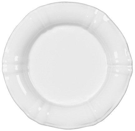 Тарелка Village, 22 см, белая, покрытие глазурьТарелки и Блюдца<br>Плоская керамическая тарелка среднего размера универсальна. Она пригодится для подачи десерта, кондитерских изделий или фруктов. Ее также можно использовать, как подстановочное блюдо для персональных салатников и пиал. Благодаря прочности керамики вы можете пользоваться тарелкой ежедневно, в то время как, строгий классический позволяет сервировать ее и для более торжественных случаев.<br><br>Серия: Village