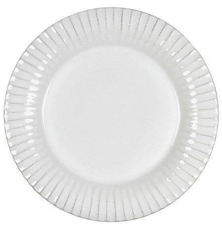 Блюдо Village, 33 см, кремовое, покрытие глазурьПодносы и Блюда<br>Изящное блюдо незаменимо для сервировки стола. В нем можно красиво подавать всевозможные закуски: нарезки, канапе. На плоскую глянцевую поверхность блюда можно аккуратно выложить мясо и овощи – свежеприготовленное кушанье будет смотреться очень аппетитно.<br><br>Серия: Village