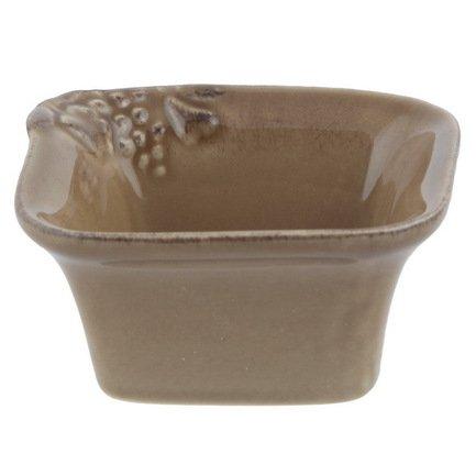 Порционный горшочек Mediterranea, 9x9 см, коричневый, покрытие глазурь