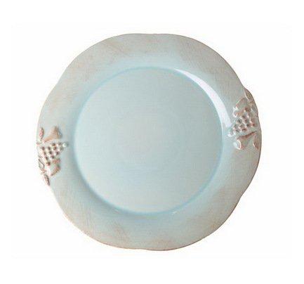 Тарелка Mediterranea, 21 см, голубая, покрытие глазурьТарелки и Блюдца<br>Плоская керамическая тарелка среднего размера универсальна. Она пригодится для подачи десерта, кондитерских изделий или фруктов. Ее также можно использовать, как подстановочное блюдо для персональных салатников и пиал. Благодаря прочности керамики вы можете пользоваться тарелкой ежедневно, в то время как, строгий классический позволяет сервировать ее и для более торжественных случаев.<br><br>Серия: Mediterranea