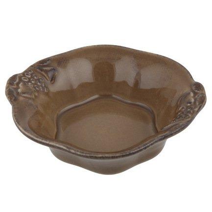 Чаша Mediterranea, 16 см, коричневая, покрытие глазурьСалатницы, Супницы<br>Чаша, изготовленная из керамики, довольно практична и удобна. Она может использоваться как пиала для порционной подачи каш, супов или спагетти. Также она пригодится для индивидуальной подачи салатов.<br><br>Серия: Mediterranea