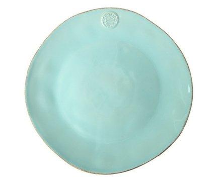 Тарелка Nova, 33 см, голубая, покрытие глазурьТарелки и Блюдца<br>Тарелка большого диаметра используется для подачи основных блюд. Ее размер позволяет сделать красивую презентацию и удивить ваших приглашенных своей фантазией и профессионализмом. Классический строгий дизайн позволяют использовать эту тарелку для домашних обедов и торжественных случаев.<br><br>Серия: Costa Nova Nova
