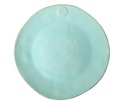 Тарелка Nova, 35x25x7.5 см, голубая, покрытие глазурьТарелки и Блюдца<br>Тарелка большого диаметра используется для подачи основных блюд. Ее размер позволяет сделать красивую презентацию и удивить ваших приглашенных своей фантазией и профессионализмом. Классический строгий дизайн позволяют использовать эту тарелку для домашних обедов и торжественных случаев.<br><br>Серия: Costa Nova Nova
