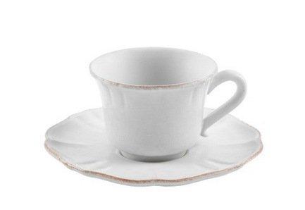 Кофейная пара Impressions (0.09 л), белая