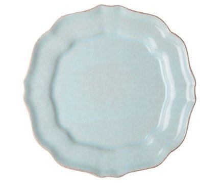 Тарелка Impressions, 34 см, голубая