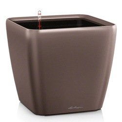 Кашпо Квадро 50 LS, кофе, с системой полива и съемным горшком Lechuza 16281