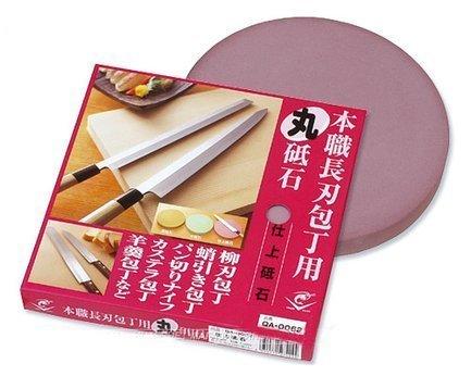 Камень точильный для длинных ножей, 22х2.4 см, финишный плоский кругМусаты, Устройства для заточки<br>При помощи этого камня вы сможете заточить нож до желаемой остроты,а также отполировать его. Подробные инструкции прилагаются.<br>