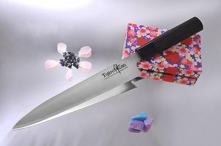 Нож для тонкой нарезки, 21 см, сталь VG-10, 3 слоя