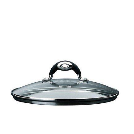 Крышка Leonardo (8002617918237), 32 смКрышки<br>Эта стеклянная крышка термостойкая и подходит для любой посуды диаметром 32 см. Стекло дает возможность зрительно наблюдать, на какой стадии приготовление блюда, не нарушая температурный баланс в кастрюле или сковороде. А металлический ободок предохраняет крышку от механических повреждений.<br><br>Серия: Bialetti Leonardo