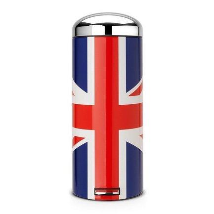 Мусорный бак Retro МС (30 л), 72х29.5х38.5 см, Union Jack