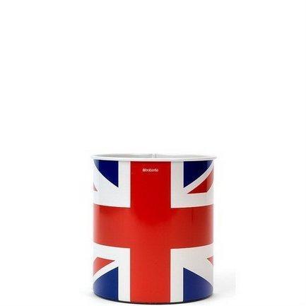 Корзина для бумаг (7 л), 21.3х23.5 см, Union Jack от Superposuda