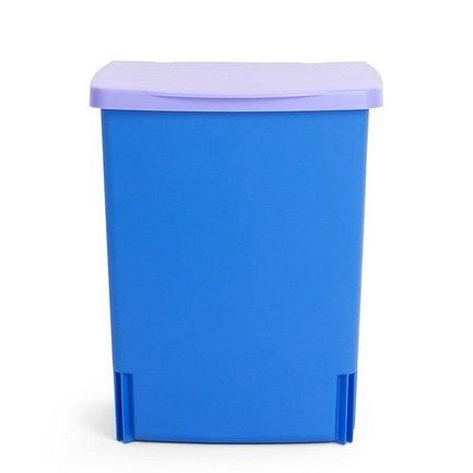 Ведро для мусора квадратное Binny (10 л), встраиваемое, 33х25.7х21.2 см, лавандовое