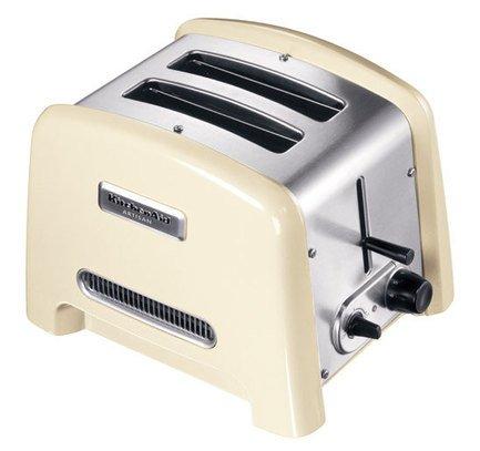 Тостер на 2 хлебца, 5KTT780EAC, кремовыйТостеры<br>Утро начнется с ароматных тостов с хрустящей корочкой, которые очень легко приготовить, если есть такой удобный тостер. Тостер в цельнометаллическом корпусе долговечен: вполне вероятно, что им будут пользоваться даже ваши дети. Гладкое и блестящее эмалированное покрытие ударопрочно. Можно быть уверенным в том, что на корпусе не появятся трещины и сколы.<br><br>Серия: Тостер Artisan