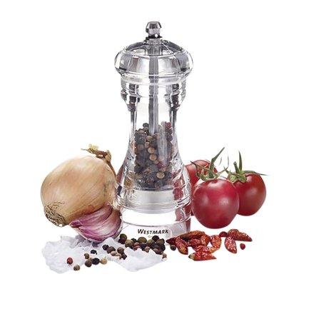Мельница для соли и перца акриловая, 14 см
