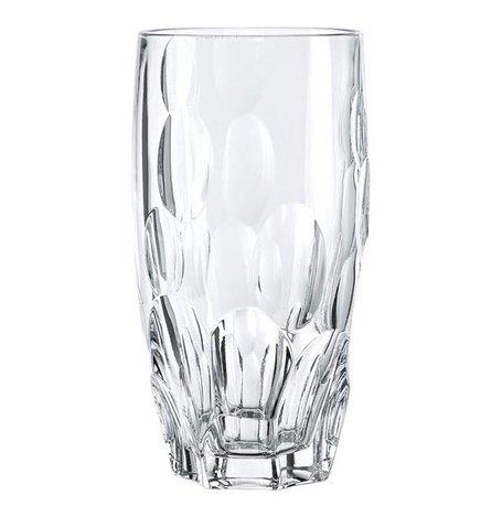 Набор стаканов высоких Sphere (385мл), 15 см, 4 шт.Стаканы<br>Набор этих высоких стаканов из бессвинцового хрусталя будет уместно смотреться в любом баре. В них коктейли или разнообразные безалкогольные напитки со льдом выглядят особенно аппетитно и эффектно.<br><br>Серия: Sphere