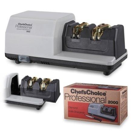 Точилка электрическая профессиональная для заточки ножей Chef'sChoice, белая Chefs Choice CC2000