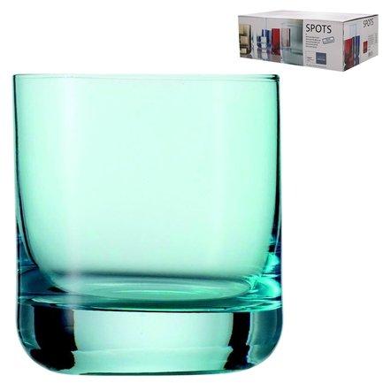 Набор стаканов для виски Spots (285 мл), голубые, 6 шт.