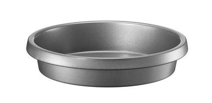Форма для пирога или фокаччи, 23х5 см, с антипригарным покрытиемФормы для запекания<br>В этой глубокой круглой форме замечательно выпекаются слоеные пироги или фокачча. Благодаря антипригарному покрытию выпечка аккуратно вынимается из посуды и форма легко отмывается после использования.<br>