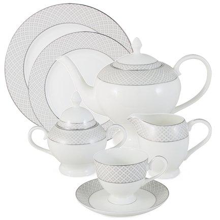 Чайный сервиз Элеганс на 12 персон, 40 пр. Emerald E5-09-17_40-AL
