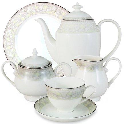 Чайный сервиз Белгравия на 6 персон, 21 пр. Emerald E6-G10Q04_21AL