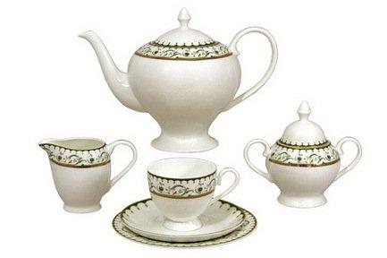 Чайный сервиз Анжелика на 12 персон, 40 пр.