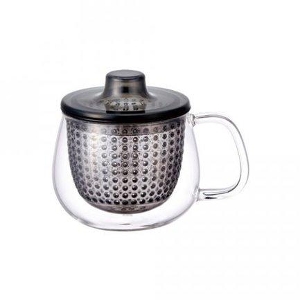 Кружка-чайник Unimug (0.35 л), 7.8х9 см, серыйЧашки и Кружки<br><br><br>Серия: Unimug