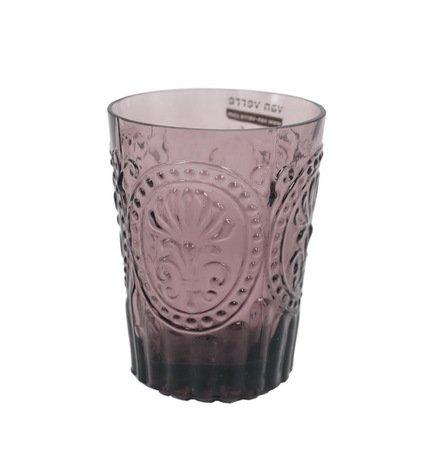 Стакан (160 мл), фиолетовыйСтаканы<br>Своей красотой стеклянные стаканы обязаны мастерству португальских стеклодувов компании Vista Allegre. Фантастические цветы, стеклянные волны, гладкость, прозрачность цвета - все это позволяет стаканам Vista Allegre быть настоящим украшением стола. Какой бы выбор вы ни сделали, собрав стаканы одного цвета или подготовив для гостей яркую палитру, великолепное стекло станет прекрасным оформлением для любого застолья.<br><br>Серия: Meditterranian Gorgeous Glass
