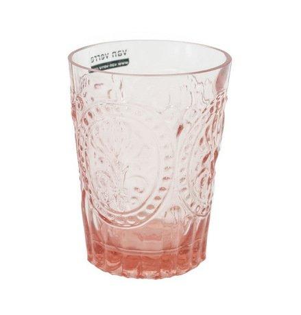 Стакан (160 мл), розовыйСтаканы<br>Своей красотой стеклянные стаканы обязаны мастерству португальских стеклодувов компании Vista Allegre. Фантастические цветы, стеклянные волны, гладкость, прозрачность цвета - все это позволяет стаканам Vista Allegre быть настоящим украшением стола. Какой бы выбор вы ни сделали, собрав стаканы одного цвета или подготовив для гостей яркую палитру, великолепное стекло станет прекрасным оформлением для любого застолья.<br><br>Серия: Meditterranian Gorgeous Glass