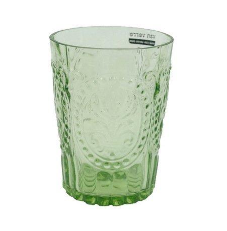 Стакан (210 мл), зеленыйСтаканы<br>Своей красотой стеклянные стаканы обязаны мастерству португальских стеклодувов компании Vista Allegre. Фантастические цветы, стеклянные волны, гладкость, прозрачность цвета - все это позволяет стаканам Vista Allegre быть настоящим украшением стола. Какой бы выбор вы ни сделали, собрав стаканы одного цвета или подготовив для гостей яркую палитру, великолепное стекло станет прекрасным оформлением для любого застолья.<br><br>Серия: Meditterranian Gorgeous Glass